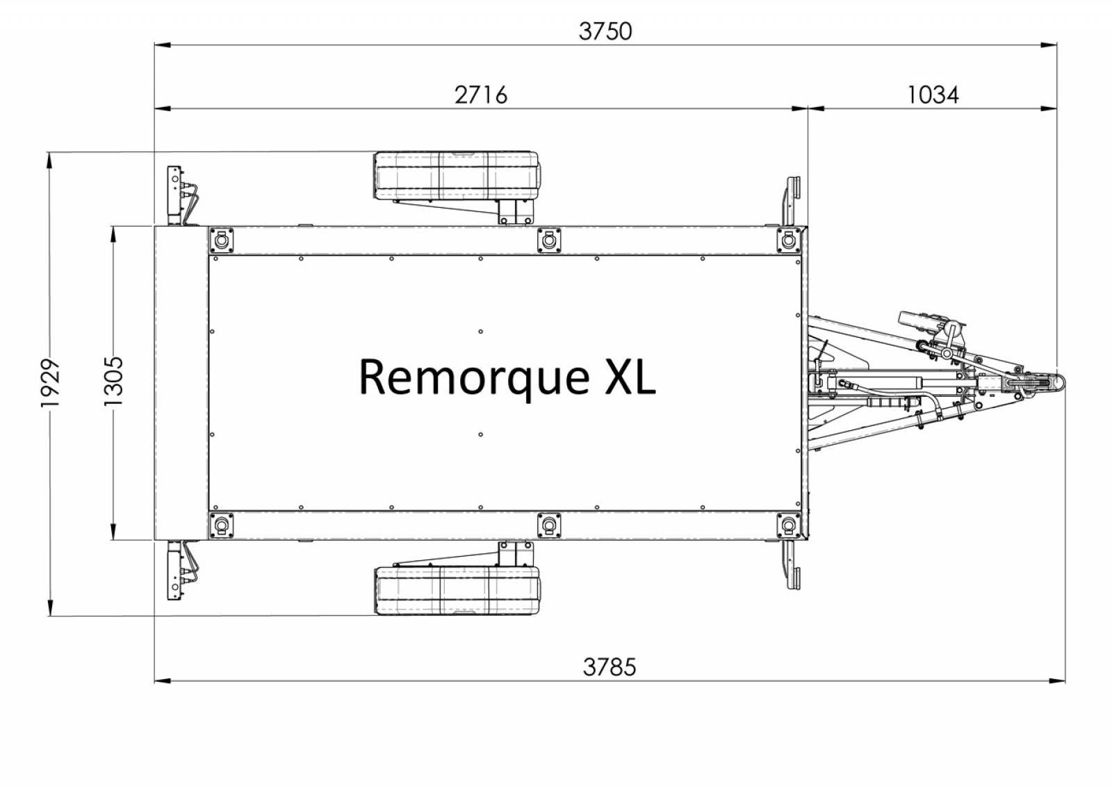 vous cherchez une remorque de moto avec plateau qui se baisse la remorque xl vous permet de. Black Bedroom Furniture Sets. Home Design Ideas